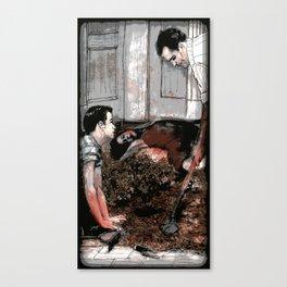 Lessons - Illustration Canvas Print