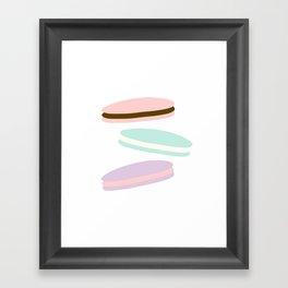 MACAROON LOVELINESS!  Framed Art Print