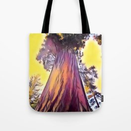Mighty Redwood Tote Bag