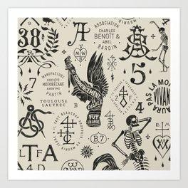 BMD Design Art V1 Art Print