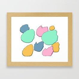 Floating Fire Framed Art Print