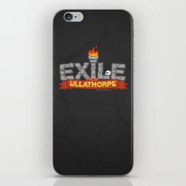 Exile From Ullathorpe - Our Logo iPhone Skin