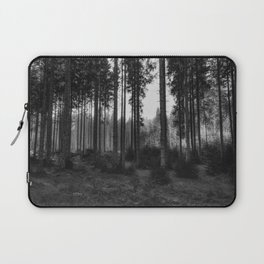 Black and White Forest 2 Laptop Sleeve