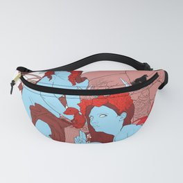 With Their Pretty Skulls Exposed Fanny Pack