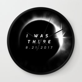 Total Solar Eclipse August 21 2017 Wall Clock