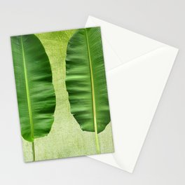 banana leaf Stationery Cards