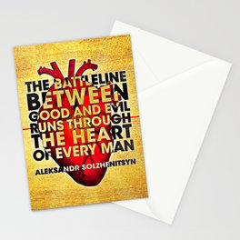 The Battleline Stationery Cards