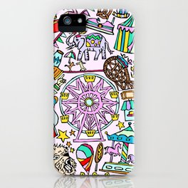 Carnival In Color iPhone Case
