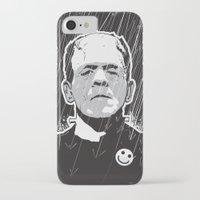 frankenstein iPhone & iPod Cases featuring Frankenstein by Matt Fontaine