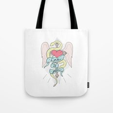 Love is pain Tote Bag