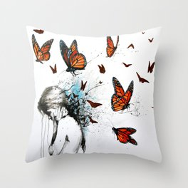My Space Throw Pillow