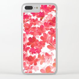 Clover XII Clear iPhone Case
