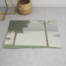 Across the Yarra - Clarice Beckett - Australian abstract Realism Rug