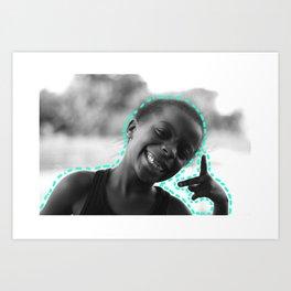 Peace & Happiness Art Print