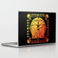 leonardo Laptop & iPad Skins featuring Leonardo Guitar by kuuma