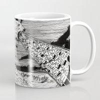 polar bear Mugs featuring Polar Bear by Meredith Mackworth-Praed