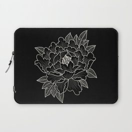 White Flower Laptop Sleeve