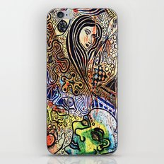 apple and serpent iPhone & iPod Skin