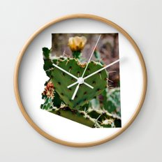 Sonoran Love / Arizona Wall Clock