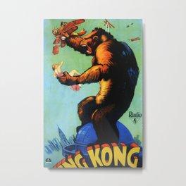 King Kong Fay Wray Metal Print