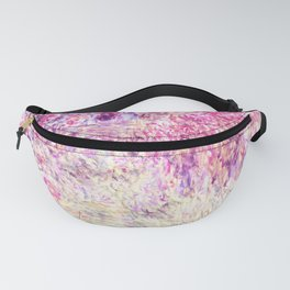 Monet : The House Among the Roses Fanny Pack