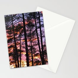 Payson Pines at Sunset Stationery Cards