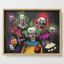 Killer Klowns From Outer Space Serving Tray