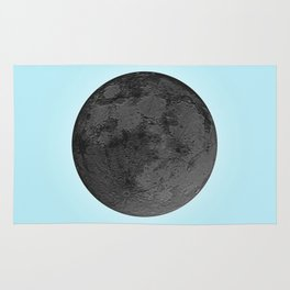 BLACK MOON + BLUE SKY Rug