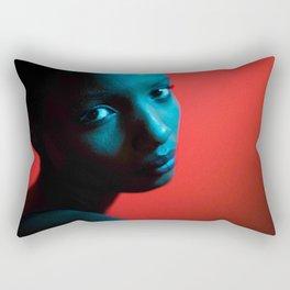 Blue Shasta Rectangular Pillow
