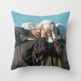TRAPPED BODIES Throw Pillow