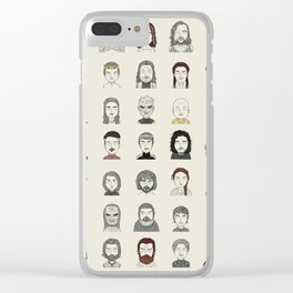 Winter is Here Clear iPhone Case