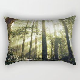 The Call of the Forest Rectangular Pillow