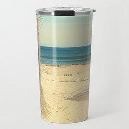 Pathway To The Sea Travel Mug