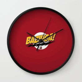 Sheldon Bazinga! Wall Clock