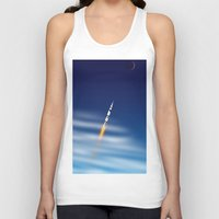 apollo Tank Tops featuring Apollo by Colorado Vectors
