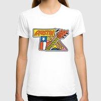 austin T-shirts featuring Austin TX by Brandon Ortwein
