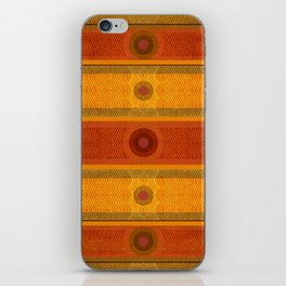 """Ethnic Pattern Warm Tones II"" iPhone Skin"