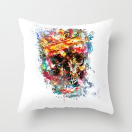 King Dusty Throw Pillow