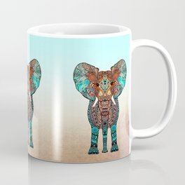 BOHO SUMMER ELEPHANT Coffee Mug