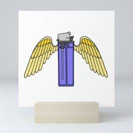 Flying Lighter Mini Art Print
