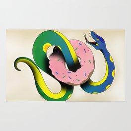 Donut Snake Rug