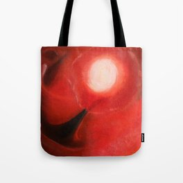 Red Dancer in the Sky Tote Bag