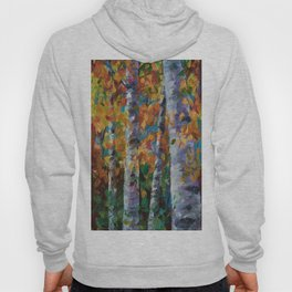 Birch trees - 1 Hoody