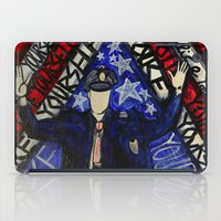 "police iPad Cases featuring ""Police Yourself"" by Matthew Z Kessler"