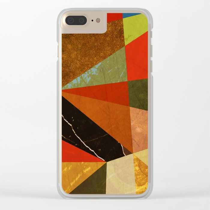Abstract #257 Vincent's Bedroom Clear iPhone Case