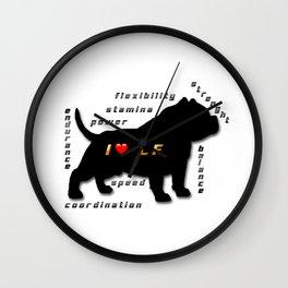 I love CF Wall Clock