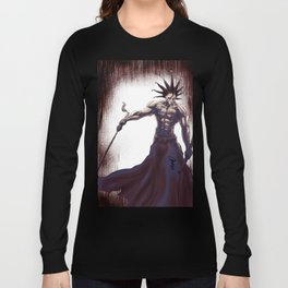 Kenpachi Zaraki of Bleach Long Sleeve T-shirt