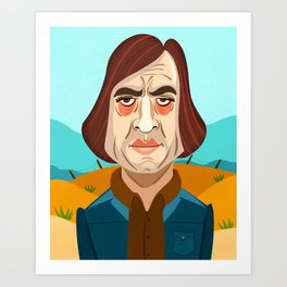 No Country For Old Men Art Print