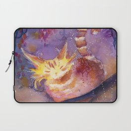 Glow in the Night Forest Laptop Sleeve
