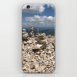 Stacked stones iPhone Skin
